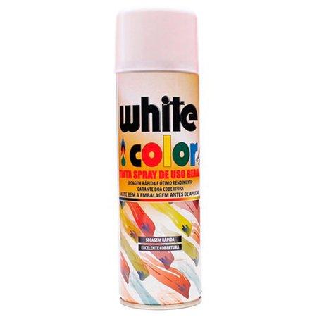 tinta spray white color branco 340ml