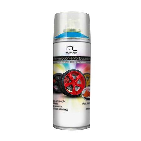 envelopamento líquido azul fluorescente em spray - 400ml