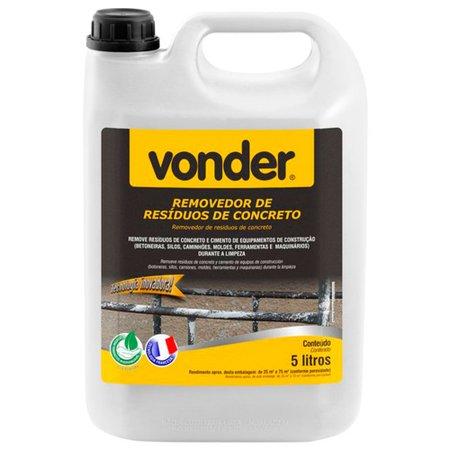 removedor de resíduos de concreto biodegradável 5 litros