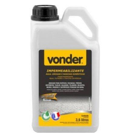 impermeabilizante de água, umidade e manchas naturais biodegradável de 3,6 litros