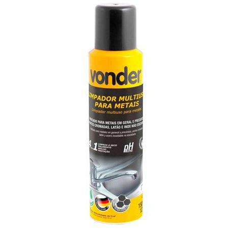 limpador spray multiuso 4 em 1 para metais 150ml