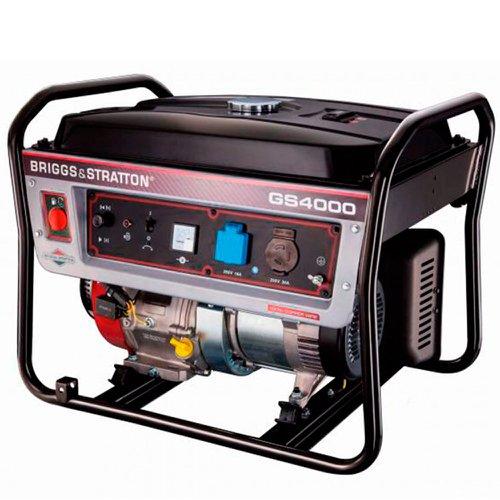 Gerador de Energia Gasolina 3500w Briggs & Stratton Bivolt - Gs4000