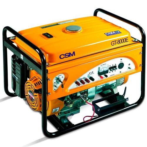 Gerador de Energia Gasolina 9000w Csm Monofásico 220v - Gt8000e