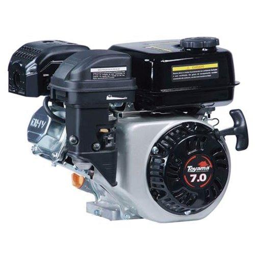 motor estacionário à gasolina 7hp 210cc com partida manual