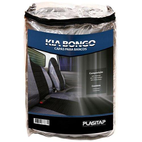 capa para banco automotivo em tecido para kia bongo com 02 peças