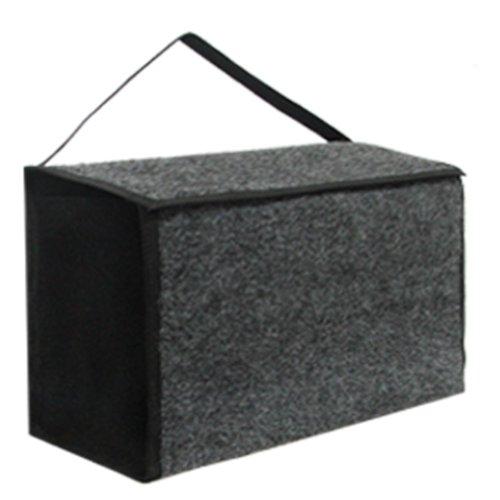 bolsa pequena sem alça para ferramentas em carpete