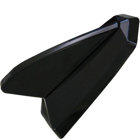 antena tubarão decorativa preto cadilac