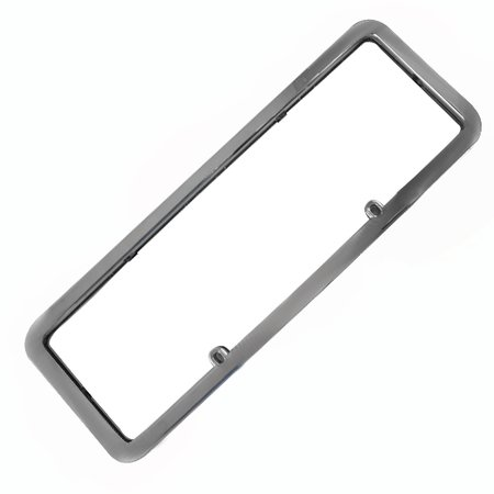 moldura placa cromada 405 x 135mm