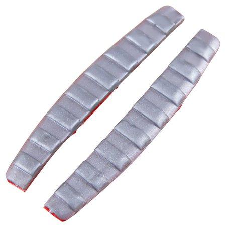 protetor de porta flexível prata