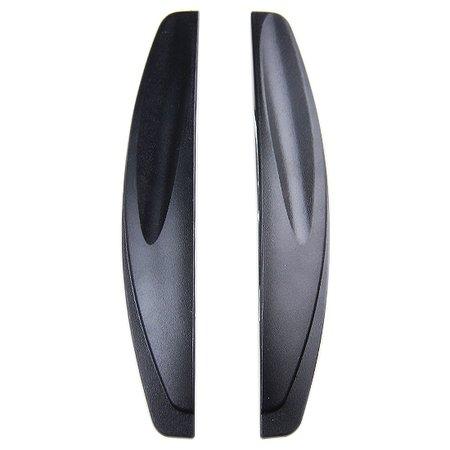 protetor de porta de porta flexível preto