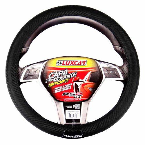 capa para volante sport fibra de carbono