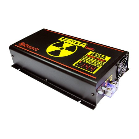 fonte automotiva 120a plus+ 14,4v com voltímetro/amperímetro digital bivolt aut.