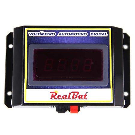 voltímetro automotivo digital para 12v e 24v
