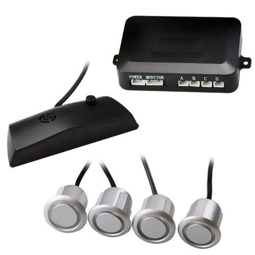 sensor de estacionamento com led prata