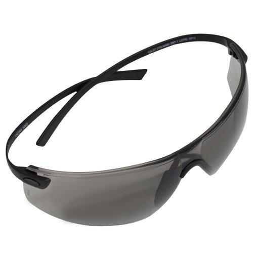 óculos de segurança dielectric elastic com lente cinza
