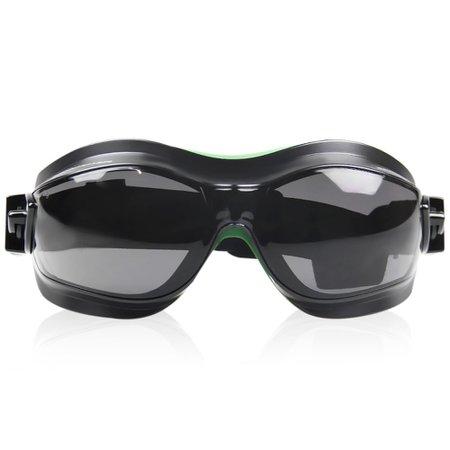 óculos de proteção ampla visão helíx - cinza