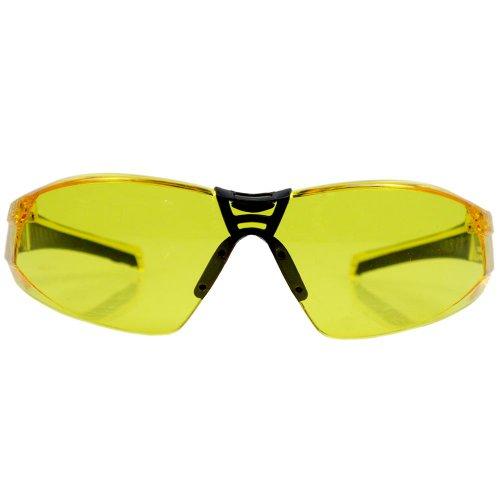 óculos de segurança cayman sport com lente âmbar anti embaçante