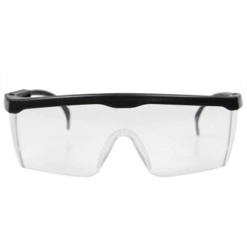 kit de óculos de proteção incolor rj com 10 unidades