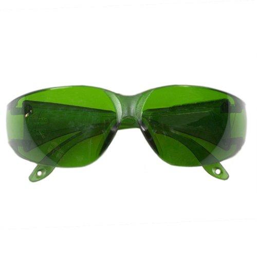 óculos de proteção verde leopardo