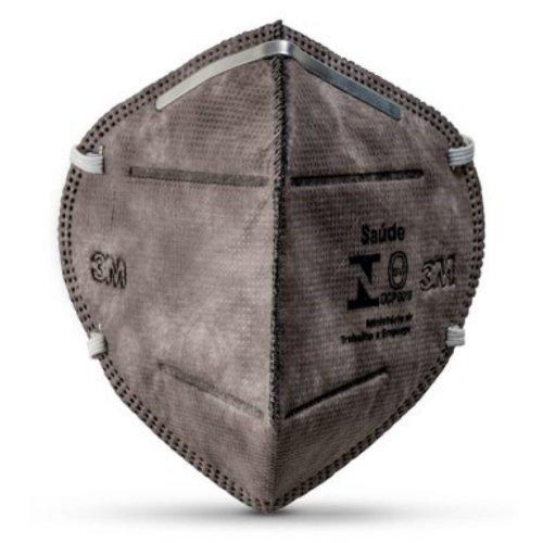 respirador semi-facial pff-2 dobrável descartável para vapores orgânicos