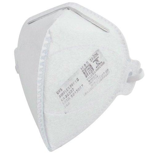respirador pff1 dobrável semi-facial sem carvão ativado sem válvula