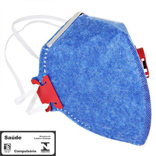 máscara respirador semifacial pff1 válvulada