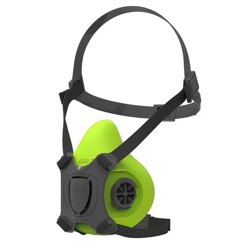 respirador semifacial para filtros gêmeos série 200 verde - bls evo-s
