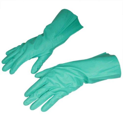 luva de látex nitrílico verde tamanho g - nitrili ka 10