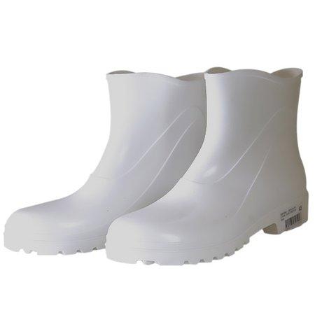 bota de pvc com cano extra curto branco n° 35