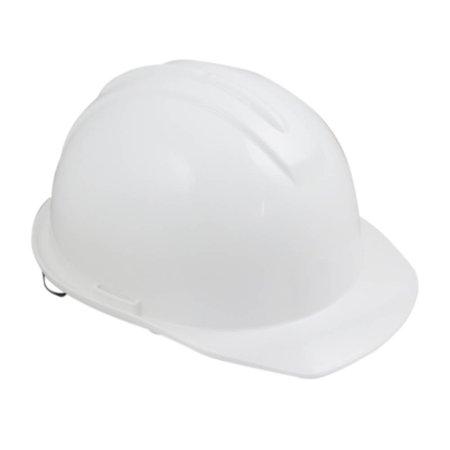 capacete de segurança branco com carneira - evolution