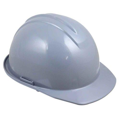 capacete de segurança cinza com carneira - evolution