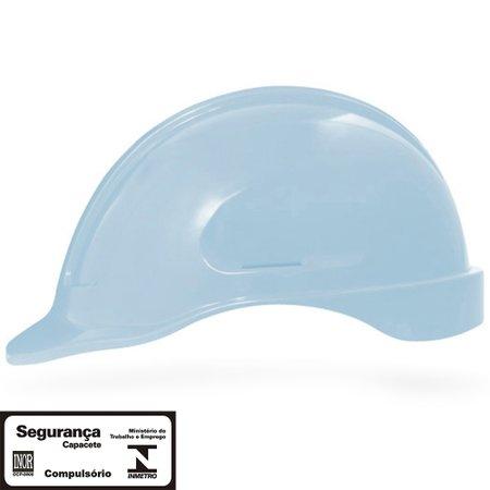 capacete de segurança azul pastel turtle sem suporte