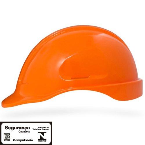 capacete de segurança laranja escuro turtle sem suporte