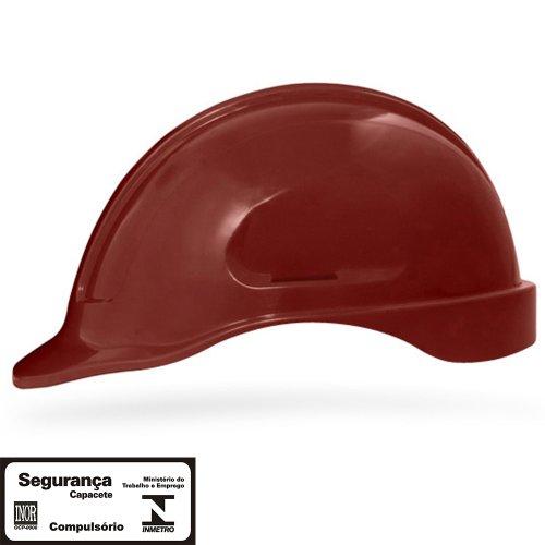 capacete de segurança marron escuro turtle sem suporte