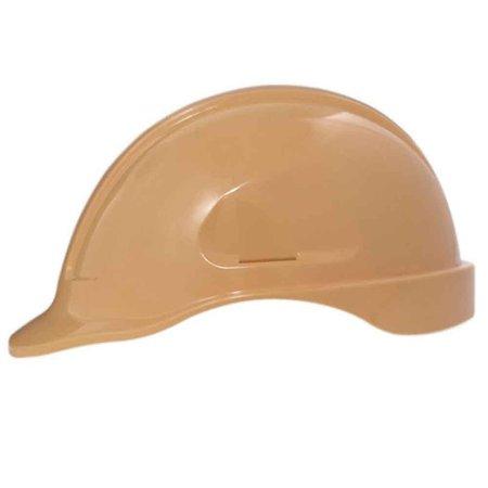 capacete de segurança bege pêssego turtle sem suporte