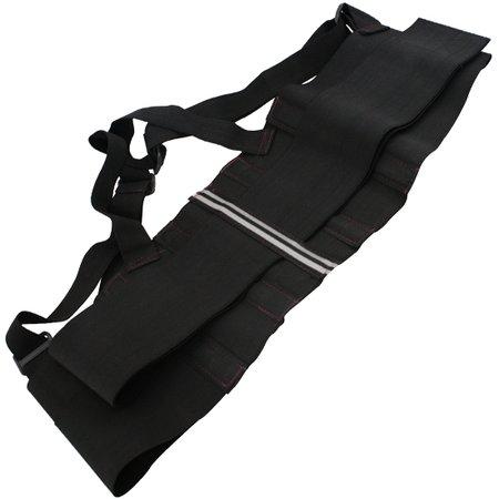 cinta ergonômica com suspensório tamanho xg