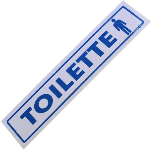 placa sinalizadora para toilette masculino