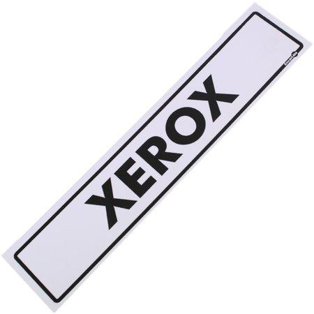 placa sinalizadora para xerox