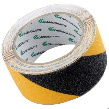 fita adesiva antiderrapante preta e amarela 5 metros