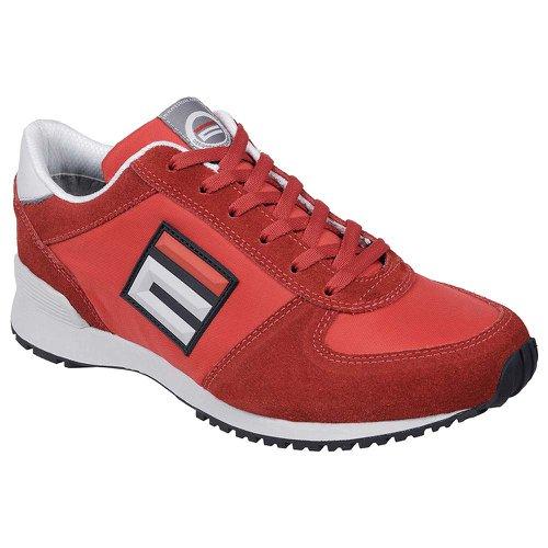 tênis de segurança esportivo energy super n° 43 vermelho