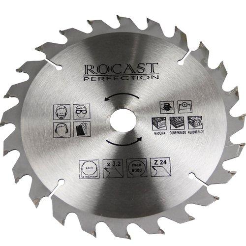 disco de serra circular para madeira 9.1/4 pol. 24d