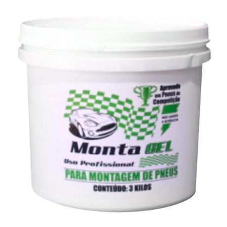 balde de pasta em gel 3kg para montagem de pneus