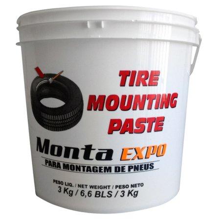 balde 3kg com pasta de montagem expo para pneus