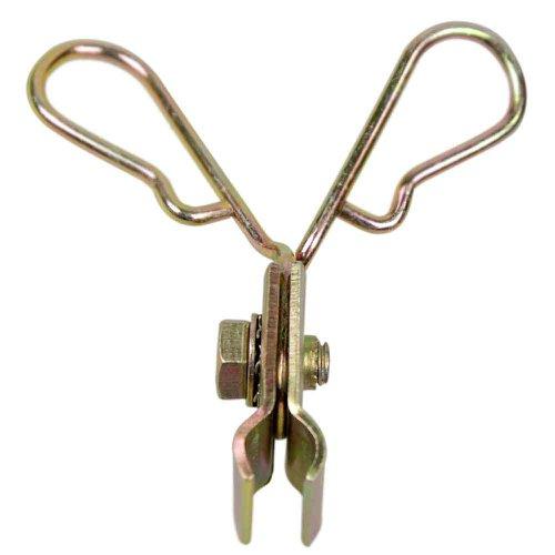 suporte duplo para extensão flexível 10 peças - fve3