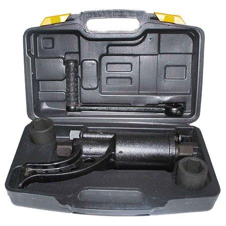 desforcímetro multiplicador de torque 3200nm + 2 soquetes e maleta