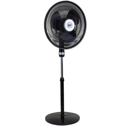 Ventilador Coluna 3 Pás Wap Vortex Turbo Preto 49cm - 220v