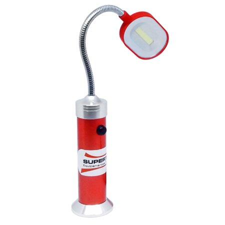 lanterna led tipo abajur com base magnetica