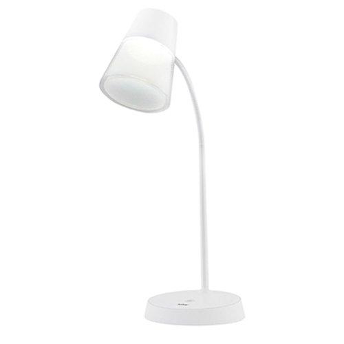 luminária led redonda 220lm de mesa