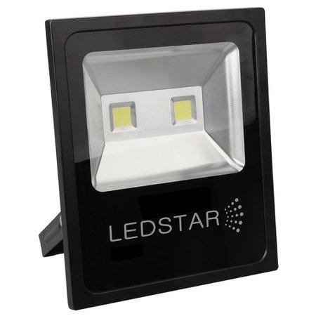 refletor led ultra slim 10w 6000k branca com alça articulada