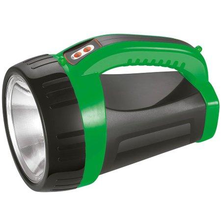 lanterna holofote portátil recarregável prova de chuva de 3w bivolt